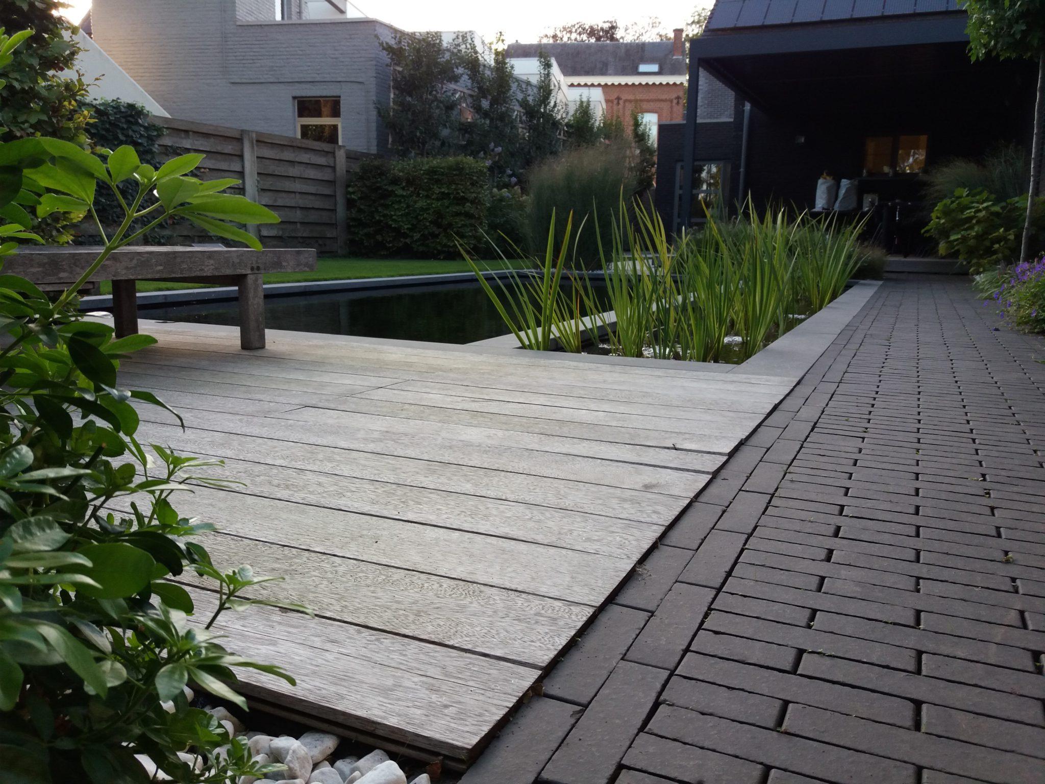 project 7 ook in de kleine tuin past een zwemvijver 4