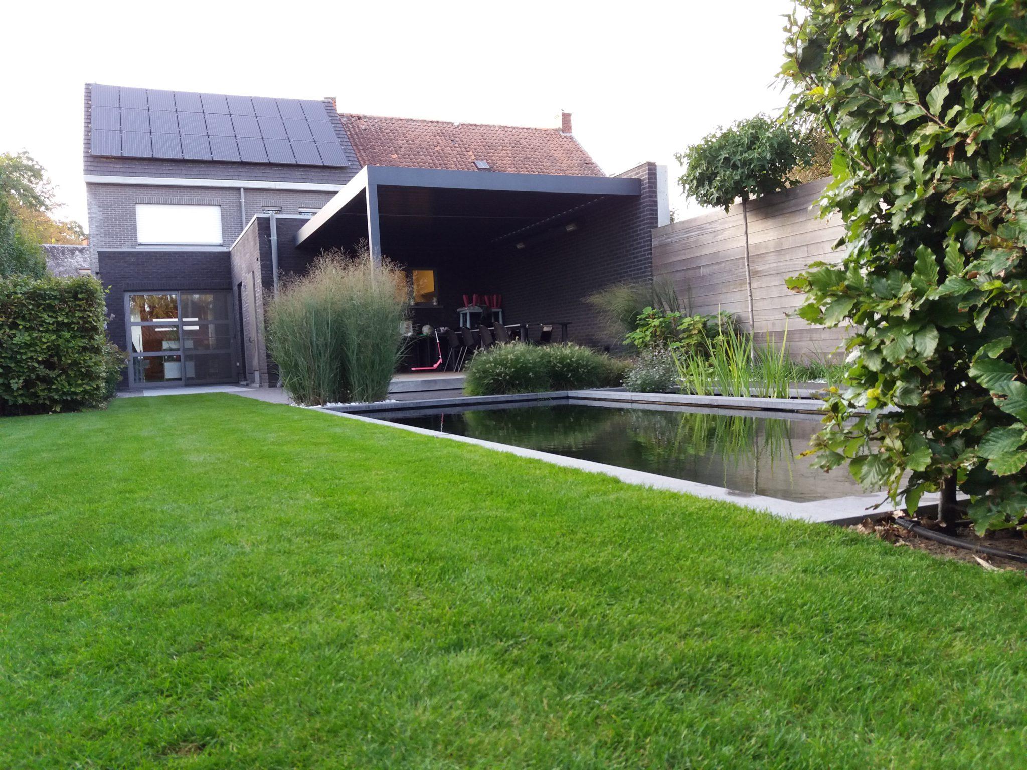 project 7 ook in de kleine tuin past een zwemvijver 5